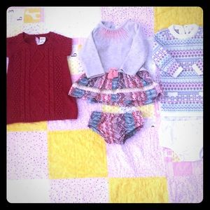 Baby girl sweater dresses!!!